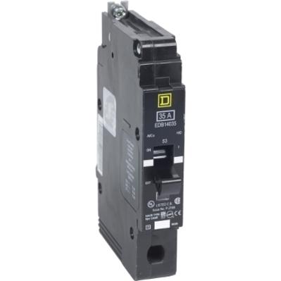 Square D - Schneider Electric EDB14050 Schneider Electric / Square D EDB14050 Lighting Panelboard Miniature Circuit Breaker; 50 Amp, 277 Volt AC, 1-Pole, Bolt-On Mount