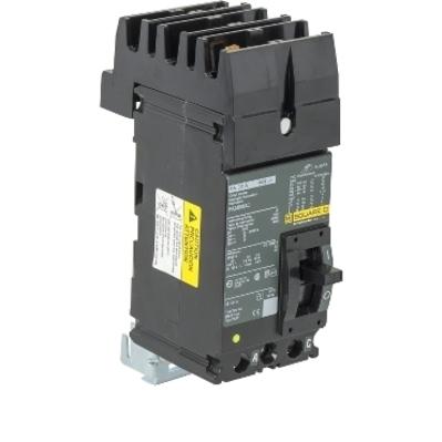 Square D - Schneider Electric FA24030AC Schneider Electric / Square D FA24030AC I-Line® Powerpact® Molded Case Circuit Breaker; 30 Amp, 480 Volt AC, 250 Volt DC, 2-Pole, Plug-On Mount