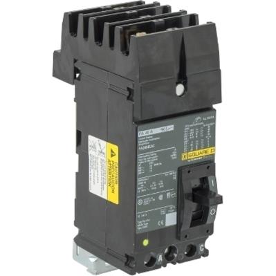 Square D - Schneider Electric FA24040AC Schneider Electric / Square D FA24040AC I-Line® Powerpact® Molded Case Circuit Breaker; 40 Amp, 480 Volt AC, 250 Volt DC, 2-Pole, Plug-On Mount