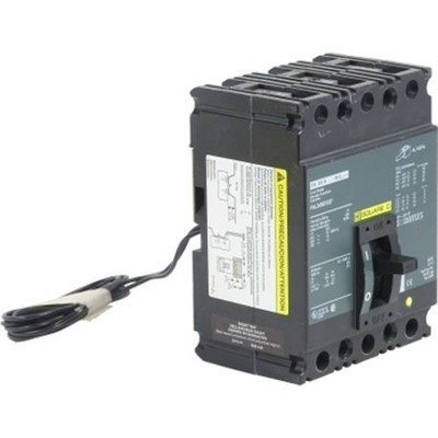 Square D - Schneider Electric FAL340701021 Square D FAL340701021 Thermal Magnetic Molded Case Circuit Breaker, 480 VAC, 250 VDC, 70 A, 3-Pole, Unit Mount