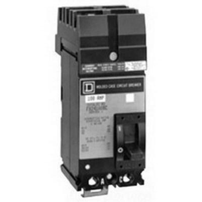Square D - Schneider Electric FH26040AB Schneider Electric / Square D FH26040AB I-Line® Molded Case Circuit Breaker; 40 Amp, 600 Volt AC, 250 Volt DC, 2-Pole, Plug-On Mount