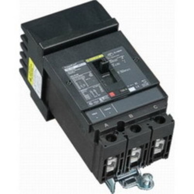 Square D - Schneider Electric HGA36150 Schneider Electric / Square D HGA36150 PowerPact® Molded Case Circuit Breaker; 150 Amp, 600 Volt AC, 250 Volt DC, 3-Pole, Plug-On Mount