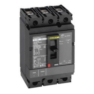 Square D - Schneider Electric HGL36020 Schneider Electric / Square D HGL36020 PowerPact® Molded Case Circuit Breaker; 20 Amp, 600 Volt AC, 250 Volt DC, 3-Pole, Unit Mount