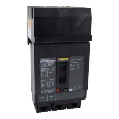 Square D - Schneider Electric HLA260202 Schneider Electric / Square D HLA260202 Powerpact™ Molded Case Circuit Breaker; 20 Amp, 600 Volt AC, 2-Pole, I-Line Plug-On Mount