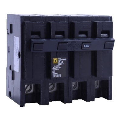 Square D - Schneider Electric HOM2175BB Schneider Electric / Square D HOM2175BB Homeline™ Miniature Circuit Breaker; 175 Amp, 120/240 Volt AC, 2-Pole, Plug-On Mount