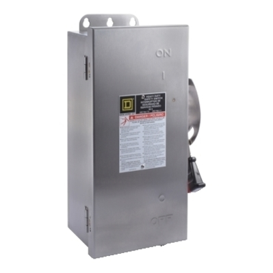 Square D - Schneider Electric HU362DSEI Schneider Electric HU362DSEI Switch Nonfusible Hd 60A 3P Stainless