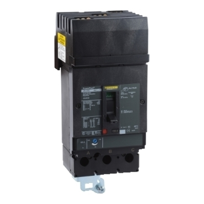 Square D - Schneider Electric JGA36150 Schneider Electric / Square D JGA36150 I-Line® Powerpact® Molded Case Circuit Breaker; 150 Amp, 600 Volt AC, 250 Volt DC, 3-Pole, Plug-On Mount