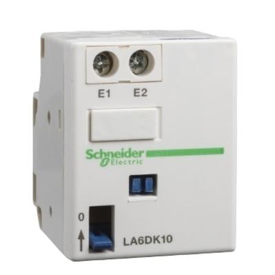 Square D - Schneider Electric LAD6K10F Schneider Electric / Square D LAD6K10F TeSys Contactor Mechanical Latch Block; 690 Volt, 30 Watt