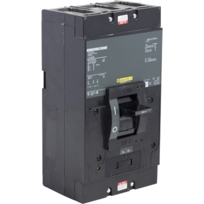 Square D - Schneider Electric LAL36200 Schneider Electric / Square D LAL36200 Molded Case Circuit Breaker; 200 Amp, 600 Volt AC, 250 Volt DC, 3-Pole, Unit Mount