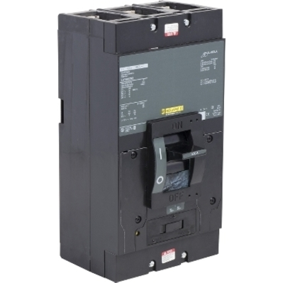 Square D - Schneider Electric LAP36400MB Schneider Electric / Square D LAP36400MB Molded Case Circuit Breaker with Automatic Switch; 400 Amp, 600 Volt AC, 3-Pole