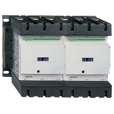 Square D - Schneider Electric LC2D150G7 Schneider Electric LC2D150G7 Reversing Contactor 575VAC 150A Iec