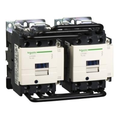 Square D - Schneider Electric LC2D40G7 Schneider Electric LC2D40G7 Reversing Contactor 575VAC 40A Iec