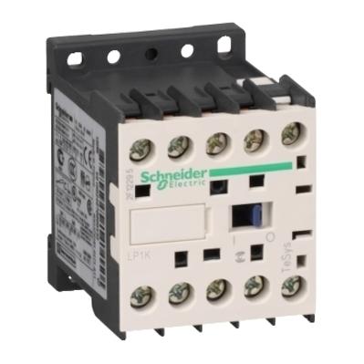 Square D - Schneider Electric LP1K0610BD Square D LP1K0610BD Non-Reversing Miniature Contactor, 440 VAC, 24 VDC Coil, 6 A, 3-Pole, 1NO