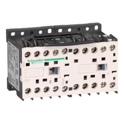 Square D - Schneider Electric LP2K0901BD Schneider Electric LP2K0901BD Reversing Contactors 575VAC 9A Iec