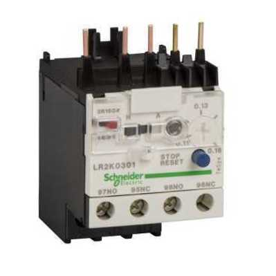 Square D - Schneider Electric LR2K0306 Square D LR2K0306 Thermal Overload Relay, 0.8 - 1.2 A, Class 10 A, 3-Pole