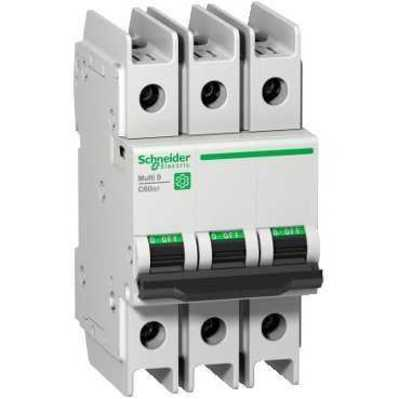 Square D - Schneider Electric M9F42320 Square D M9F42320 Miniature Thermal Magnetic Circuit Breaker, 240/415/440 VAC, 20 A, 3-Pole, Clip-On Mount