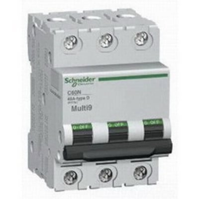 Square D - Schneider Electric MG17474 Schneider Electric / Square D MG17474 Multi 9™ Supplementary Protector; 60 Amp, 480Y/277 Volt AC, 3-Pole, DIN Rail Mount