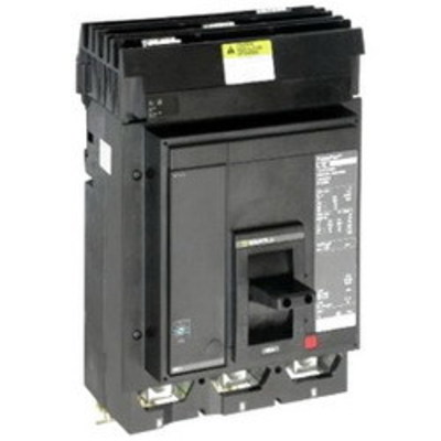 Square D - Schneider Electric MJA36400 Schneider Electric / Square D MJA36400 I-Line® Powerpact® Molded Case Circuit Breaker; 400 Amp, 600 Volt AC, 3-Pole, In-Line Mount
