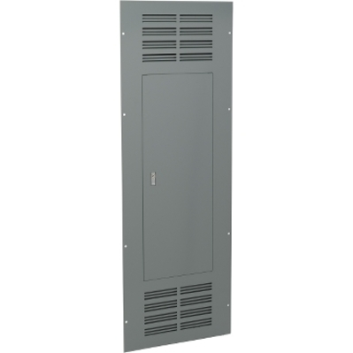 Square D - Schneider Electric NC56VS Square D NC56VS Ventilated Panelboard Trim, 20 inch Width, 56 inch Height, NEMA 1, Steel