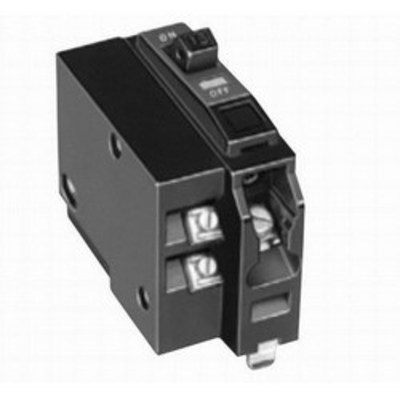 Square D - Schneider Electric QO1151021 Schneider Electric / Square D QO1151021 QO™ Miniature Circuit Breaker with Shunt Trip; 15 Amp, 120/240 Volt AC, 1-Pole, Plug-On Mount