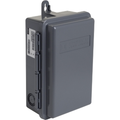 Square D - Schneider Electric QO24L60NRNM Schneider Electric / Square D QO24L60NRNM Fixed Main Lug Load Center; 60 Amp, 120/240 Volt AC, 1 Phase, 2 Space, 4 Circuit, 3-Wire, Surface