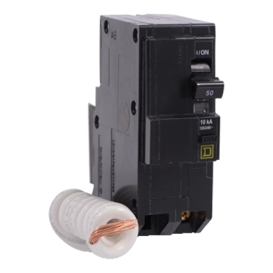Square D - Schneider Electric QO250EPD Schneider Electric / Square D QO250EPD QO™ Miniature Circuit Breaker; 50 Amp, 120/240 Volt AC, 2-Pole, Plug-On Mount