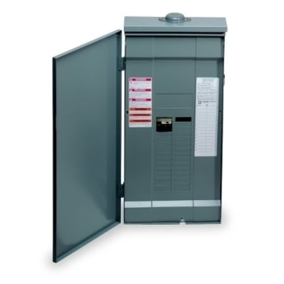 Square D - Schneider Electric QO327M100RB Square D QO327M100RB Load Center Main Breaker, 100 A, 32 Circuit, 3-Phase
