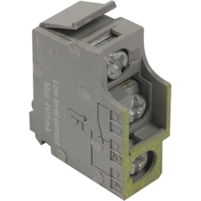 Square D - Schneider Electric S29452 Square D S29452 Circuit Breaker Auxiliary Switch, 24 VAC/DC, 1 mA, H/J/M/P/R/L Frame