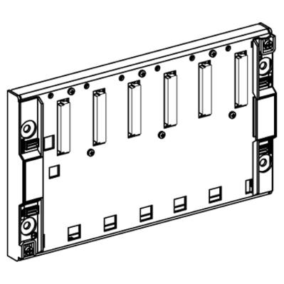Square D - Schneider Electric TSXRKY6 TSXRKY6 SQD 6 SLOT RACK