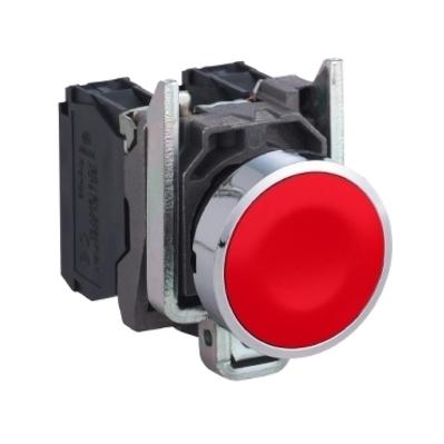 Square D - Schneider Electric XB4BA42 Schneider Electric XB4BA42 Square D Push Button, 22 mm, Flush
