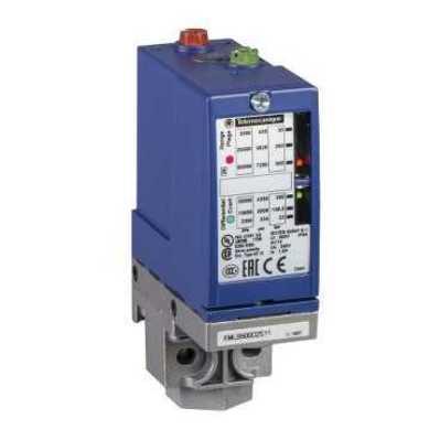 Square D - Schneider Electric XMLB010A2S13 Square D XMLB010A2S13 Electromechanical Pressure Sensor, 10 Bar, 1/4 inch-18 FNPT, 1CO, Zinc Alloy