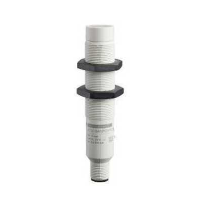 Square D - Schneider Electric XT218A1PCM12 Schneider Electric / Square D XT218A1PCM12 OsiSense® Capacitive Proximity Sensor; 12 - 24 Volt DC, 8 mm Sensing Distance, 4 Wire, PNP, DC Output, 1 NC/1 NO Operating Mode