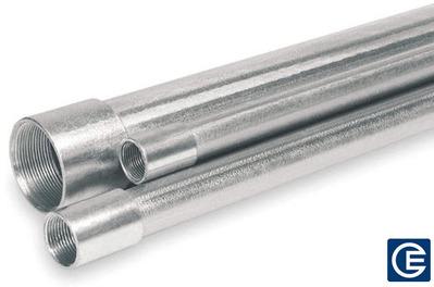 Stoneway Metallic Conduit CONDUIT 2IN ALUMINUM Aluminum Rigid Conduit Standard Stick; 2 In Diameter, 10 Ft Length