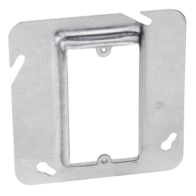 THOMAS & BETTS 72C14 Steel City 72-C-14 - 4-11/16 in. Square Box Device Cover