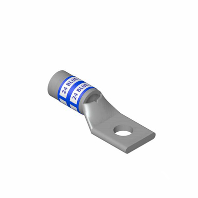 Thomas & Betts 256-30695-422 Thomas & Betts 256-30695-422 Color-Keyed® Compression Lug; 1 Hole, 1/2 Inch Stud, 6 AWG, Copper, Blue