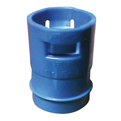 Thomas & Betts A273EF Carlon A273EF ENT Non-Metallic Reducer; 1-3/4 Inch, Polycarbonate, Blue