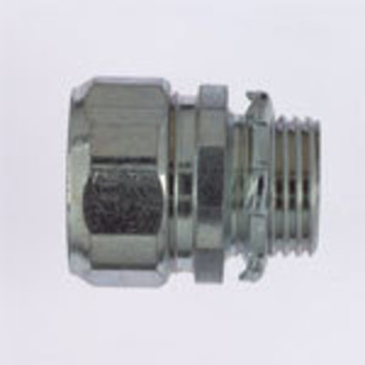 Thomas & Betts HC405 Steel City HC-405 Conduit Connector; 1-1/2 Inch, Threadless Compression, Malleable Iron