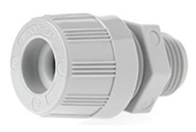 Woodhead - Molex, Inc. 5528 Woodhead / Molex 5528 Max-Loc® Watertite® Straight Strain Relief Cord Sealing Grip; 0.375 - 0.437 Inch Dia, Nylon